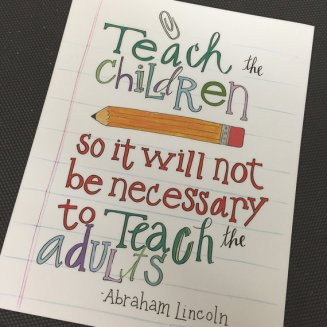 teach children