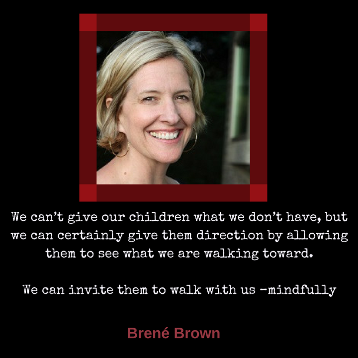"""We can_t give our children what we don_t have, but we can certainly give them direction by allowing them to see what we are walking toward. We can invite them to walk with us –m"