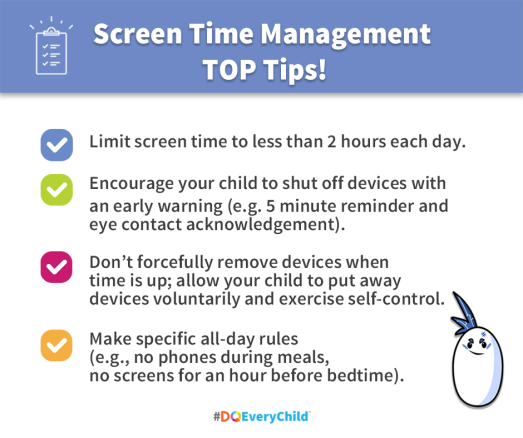 Screen Time Management TOP Tips