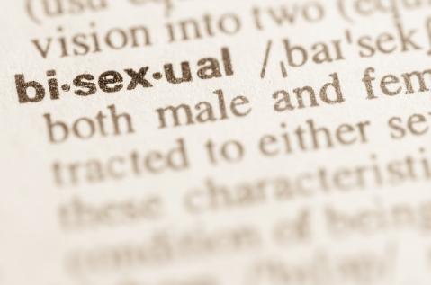 Dictionary definition of word bisexual